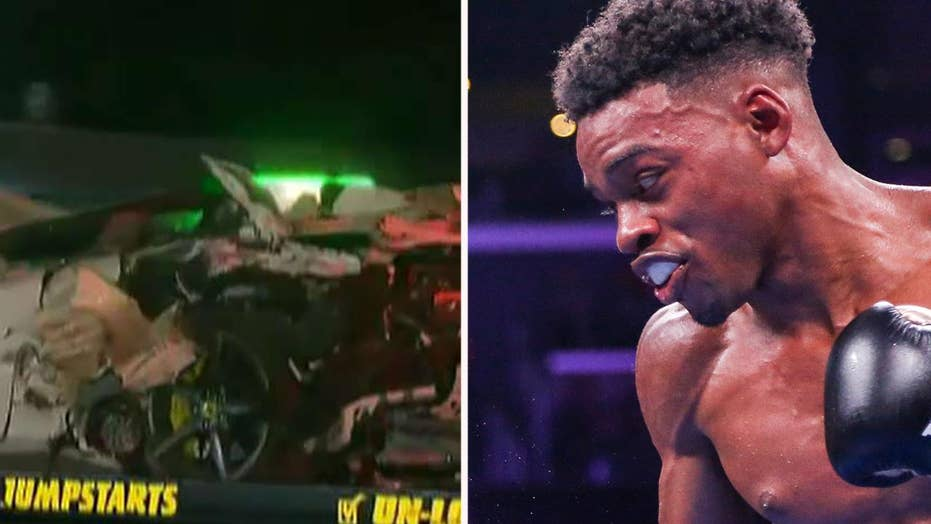 Boxer Errol Spence Jr. seriously injured in car crash