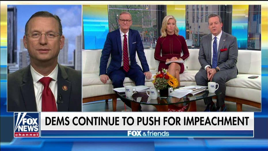 Doug Collins: 'Unamerican' impeachment effort will 'backfire' on Democrats