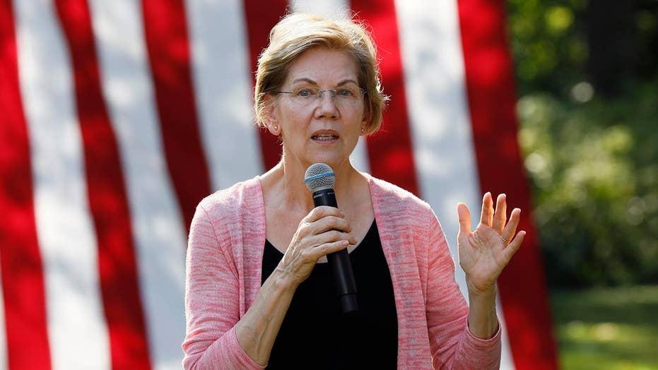 Elizabeth Warren's rise in the polls prompts jab from Joe Biden