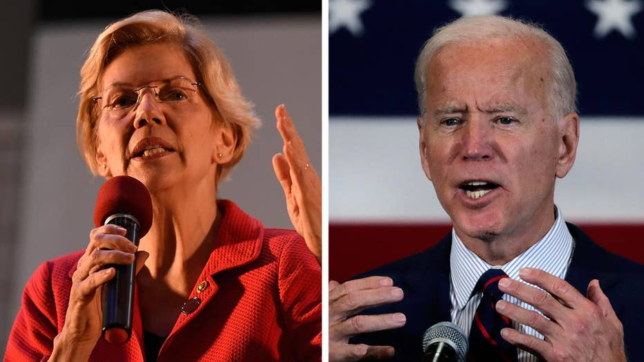 Joe Biden tops Elizabeth Warren in Fox News poll on candidate best suited to beat President Trump