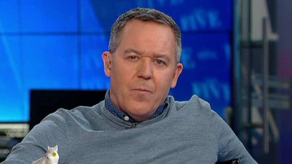Gutfeld on the media using repetition as a tool