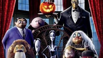 Chloe Grace Moretz gets animated in 'The Addams Family'