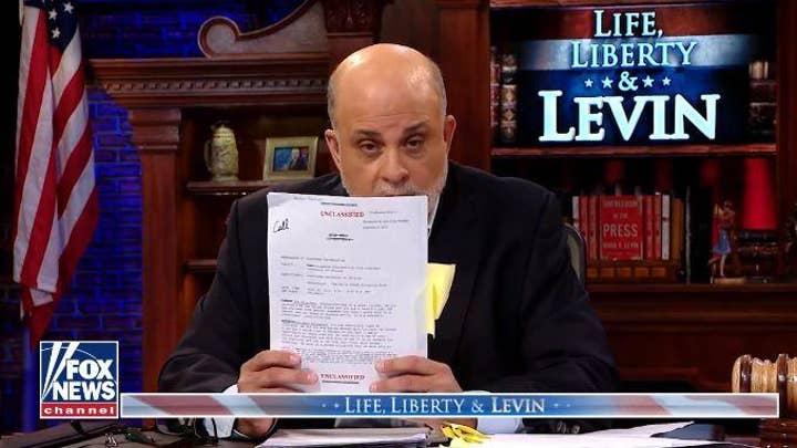 Mark Levin blasts media narrative of Trump-Ukraine transcript