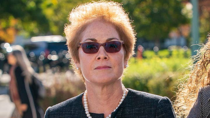 Former Amb. Marie Yovanovitch denies disparaging Trump administration, claims she was unfairly pushed out