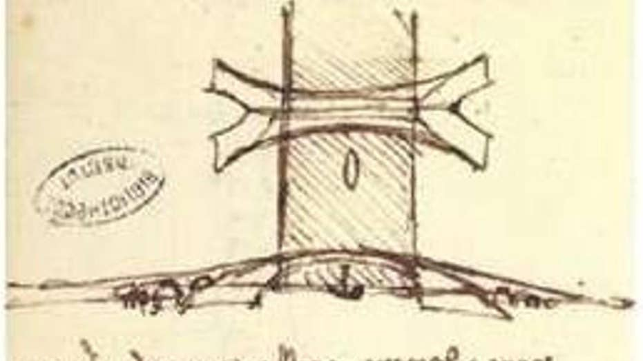 MIT researchers prove Da Vinci was ahead of his time with 500-year old bridge design