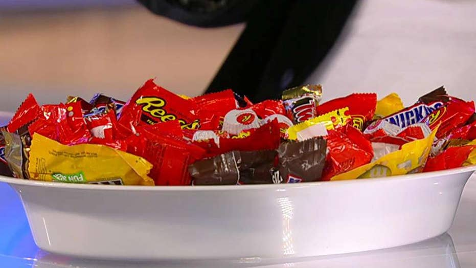 Reese's Peanut Butter Cups top poll of most popular Halloween candy