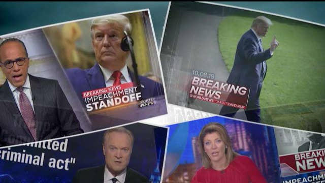 A look at how the media is handling recent stories surrounding the Trump administration