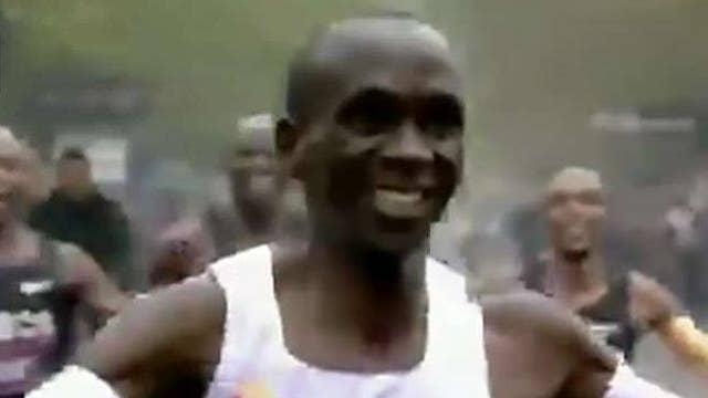 Kenyan runner breaks two-hour marathon barrier