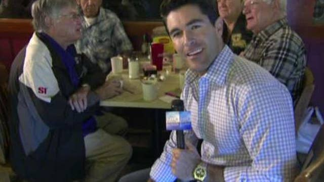 Rob talks with voters in Lake Charles, Louisiana