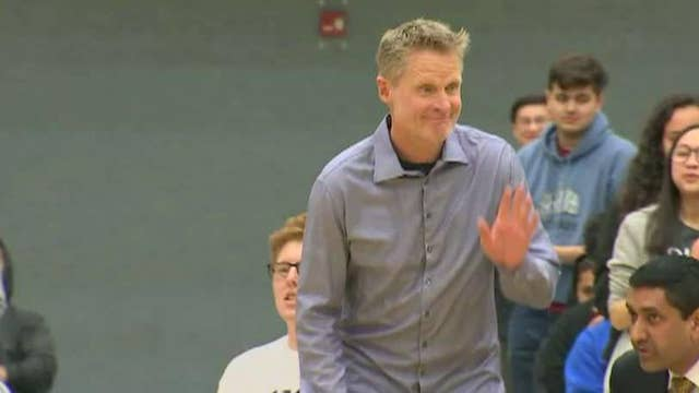 WARNING GRAPHIC LANGUAGE: NBA coach Kerr mentions US 'human rights abuses' when asked about China