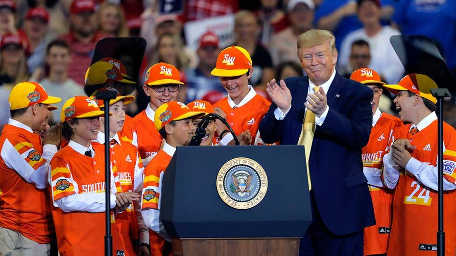 Trump honors 2019 Little League World Series champions