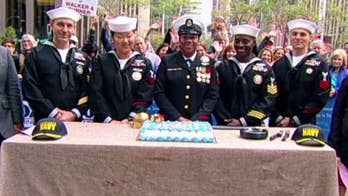 'Fox & Friends' celebrates the Navy's 244th birthday!