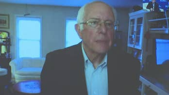 Watch: Sanders doesn't let ringing phone interrupt answer during union town hall