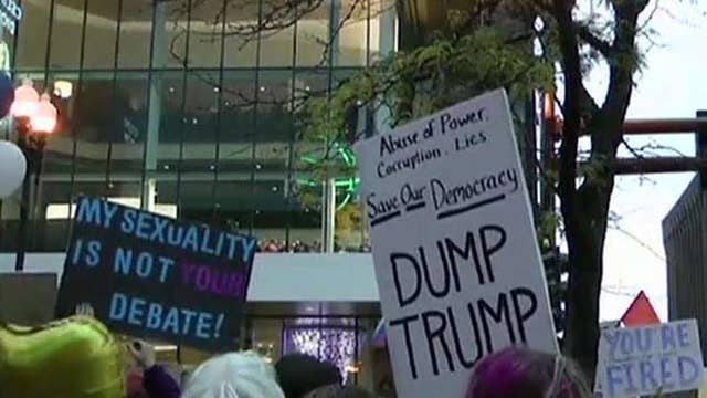 Minnesota Democrats appear to encourage anti-Trump protests outside his rally