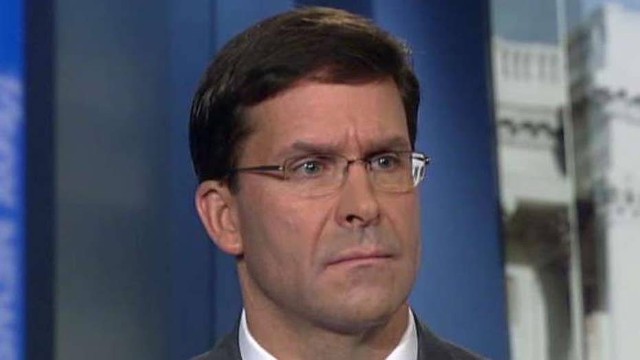Secretary of Defense Mark Esper discusses fallout from US troop withdrawal from Northern Syria