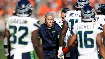 Seattle Seahawks tell Cleveland Browns fans 'Bye Bye Bye' in choreographed touchdown celebration