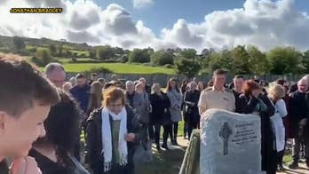 Irish prankster gives family one last laugh with a pre-recorded funeral message, from the grave