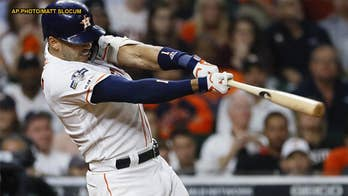 Houston Astros鈥� Carlos Correa dedicates 11th inning home run to young fan with cancer