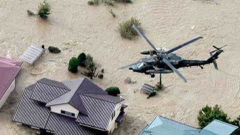 Powerful typhoon hits Japan, at least 33 dead