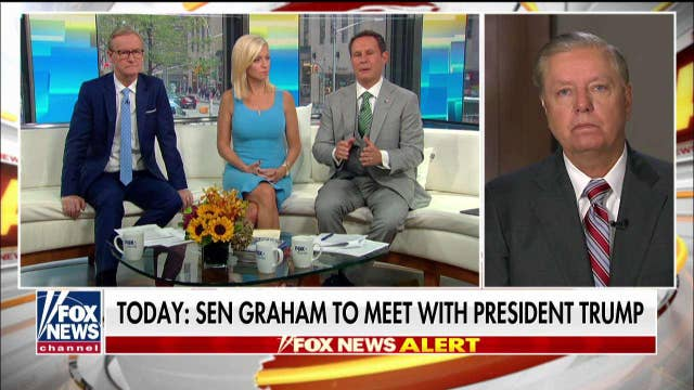 Lindsey Graham rips ex-Obama officials' criticism of Trump's Syria pullout: 'Like going to a sumo wrestler asking for diet advice'