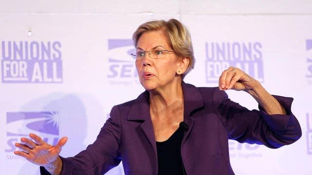 Sen. Elizabeth Warren trolls Facebook with false ad