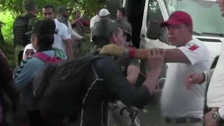 Mexico blocks thousands of migrants from Africa, Haiti from trying to reach US