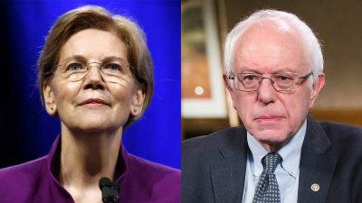 Judge Jeanine reacts to Bernie calling Elizabeth Warren a capitalist