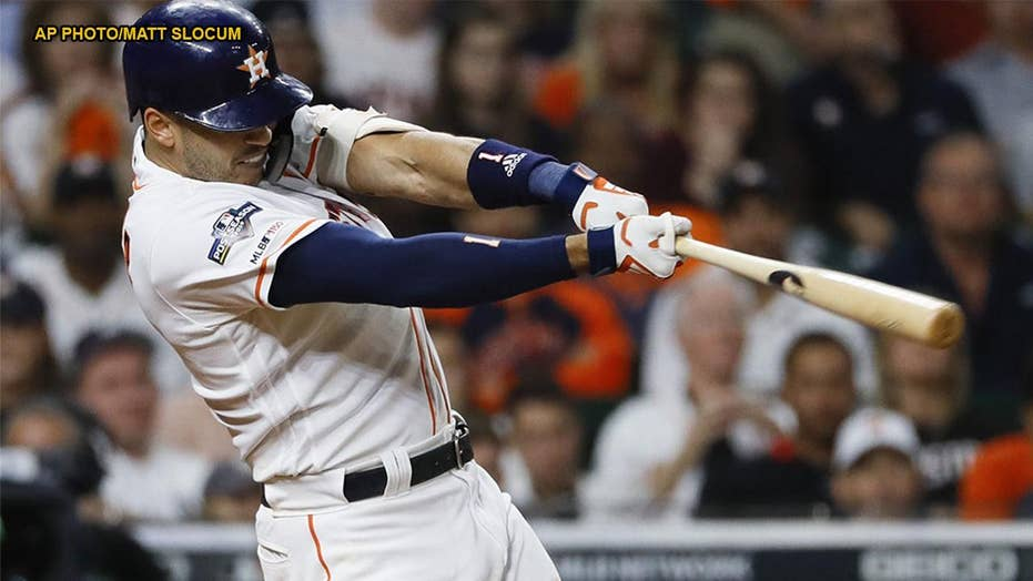 Houston Astros' Carlos Correa dedicates 11th inning home run to young fan with cancer