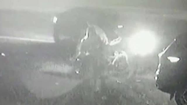 Driver caught on camera hitting four kids in Massachusetts, suspect still at large