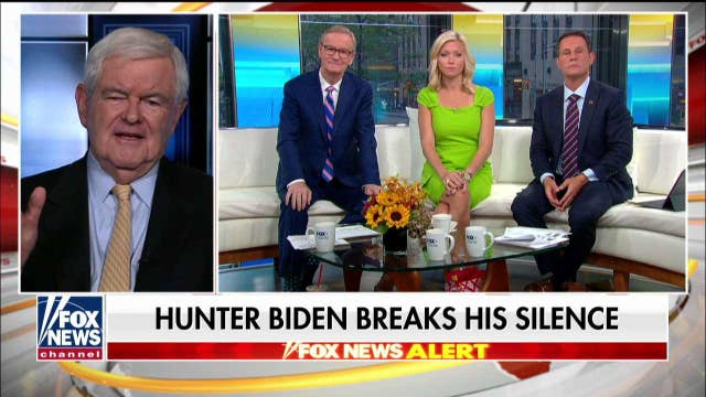 Newt Gingrich: 'Given Joe Biden's memory, it's possible he just didn't remember' his son was making $600K per year