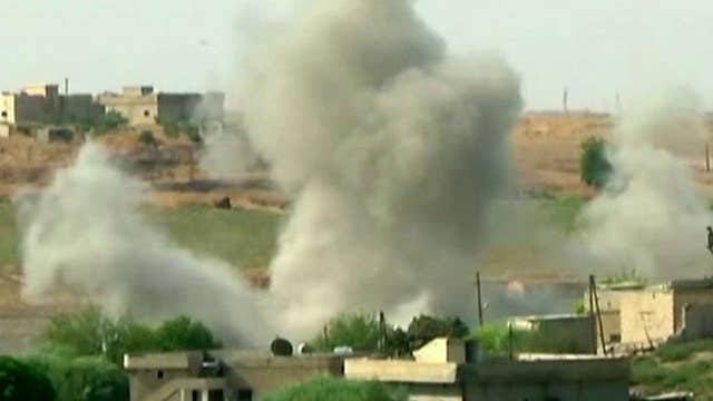 Battlefield grows more crowded in Syria as US calls for cease-fire