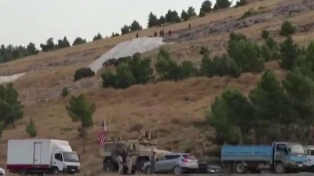 Russian-backed Syrian forces take over abandoned US base in northern Syria