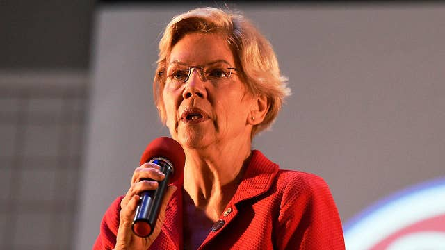 Warren gains momentum but is absence of endorsements, minority support a concern?