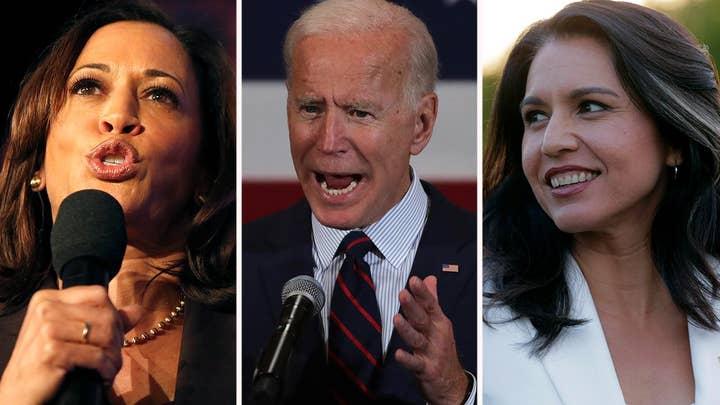 Will Joe Biden's Democratic presidential rivals use the Ukraine scandal against him on debate stage?