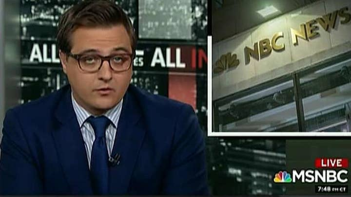 MSNBC's Chris Hayes sides with Ronan Farrow's reporting on NBC sexual misconduct