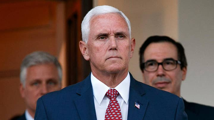 VP Pence to travel to Turkey for cease-fire negotiations