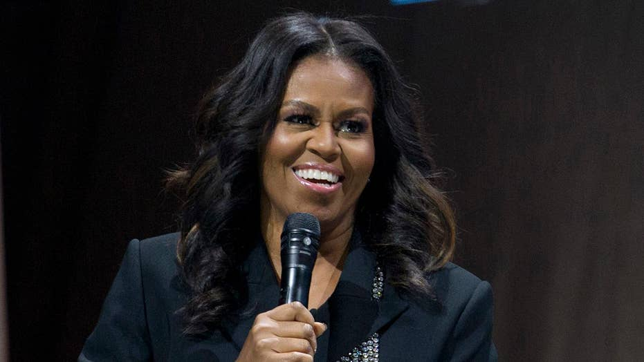 Michelle Obama leads hypothetical 2020 poll