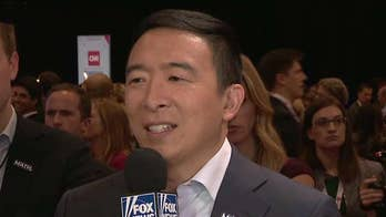 Andrew Yang says debate went 'tremendously well,' addresses controversial solution to opioid crisis