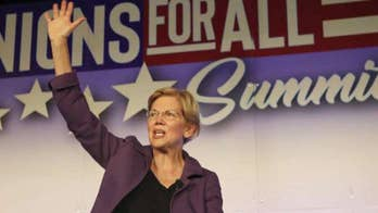 2020 Democrats treating Elizabeth Warren like the frontrunner