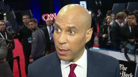 Booker on defending Biden on the Dem debate stage