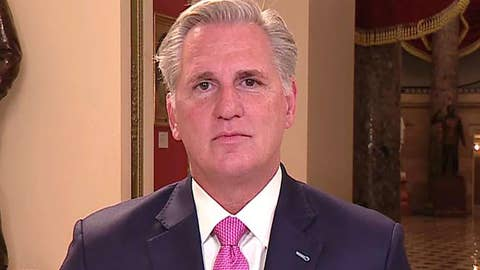 Rep. McCarthy on impeachment inquiry: Trump did nothing wrong and Dems know it