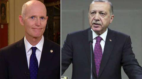 Sen. Scott says Turkey clearly not US partner right now