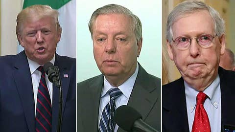 Does President Trump face a Republican rift over Syria?