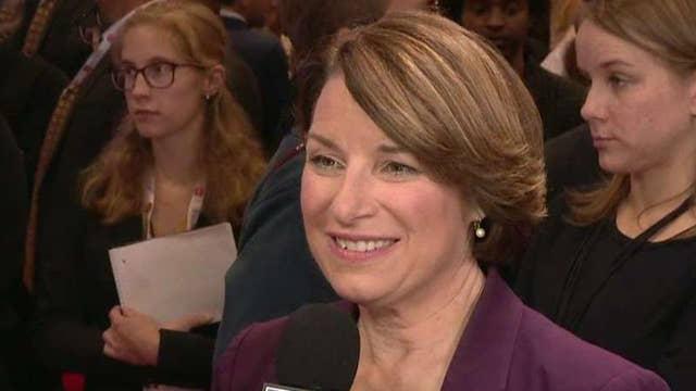 Sen. Amy Klobuchar on pushing back against Elizabeth Warren on debate stage