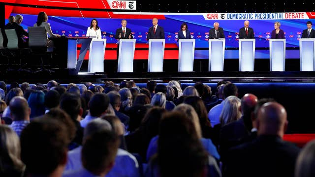 Which 2020 candidates did the best and worst during the 4th debate?