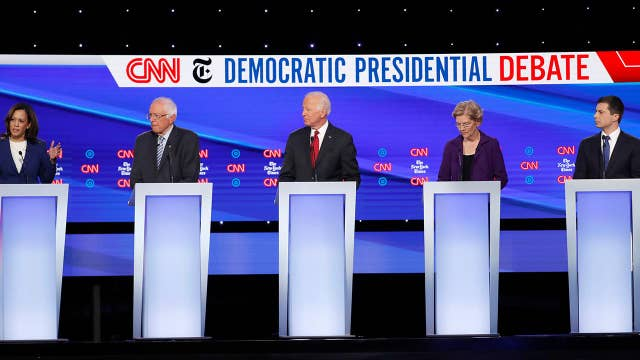 Democrats stand together, focus on impeachment during 4th debate
