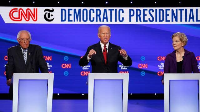 Democrats push for impeachment during Democratic debate in Ohio