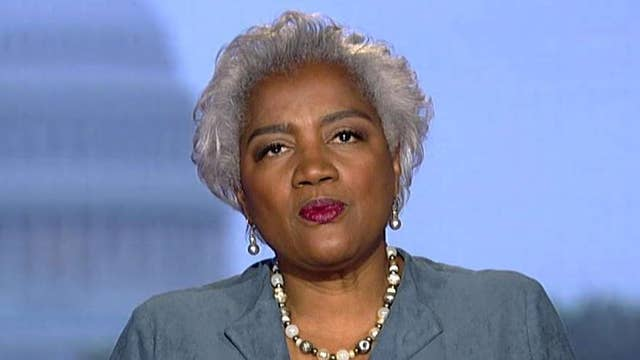 Donna Brazile praises 'substantive' Democrat debate
