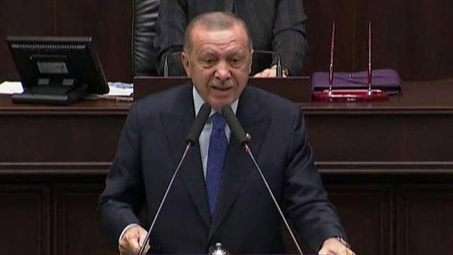 Turkey's Erdogan agrees to meet with US delegation but says he will not discuss cease-fire