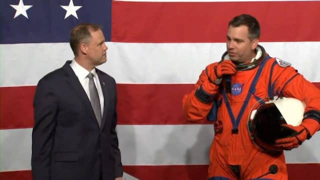 NASA unveils two next generation spacesuits as part of its Artemis program